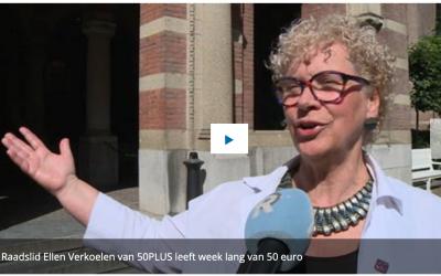 Hoe is het om te leven van 50 euro per week?
